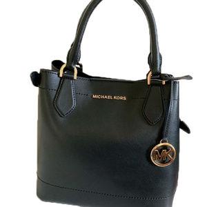 Michael Kors EDEN Large Leather Bucket Bag BLACK